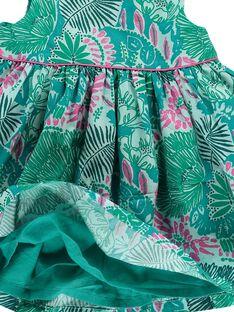 Baby girls' sleeveless dress CIDOUROB2 / 18SG09J2ROB099