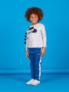 Blaue Joggingschuhe für Jungen LOBLEJOG / 21S902J1JGB702