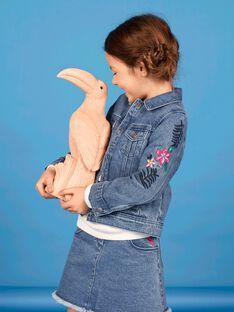 Blaue Jeansjacke aus Baumwolle LANAUVEST / 21S901R1VESP274
