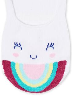 Unsichtbare Socken Kind Mädchen LYAJOSCHO3B / 21SI014ASOQ000