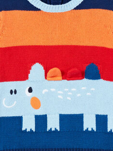 Baby Junge himmelblau Pullover LUCANPUL / 21SG10M1PUL020