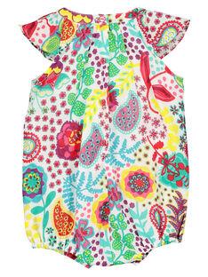 Bedruckter Baby-Strampelanzug für Mädchen FICABAR / 19SG09D1BAR000