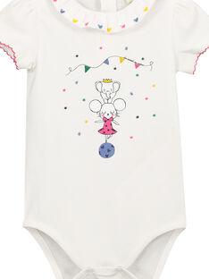 Baby-Body mit Kragen für Mädchen FICOBOD / 19SG0981BOD000