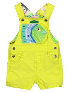 Kurze Latzhose für Babys Jungen FUCUSAC / 19SG10N1SACB105
