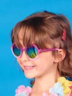 Rosa Sonnenbrille Kind Mädchen LYAMERLUN2 / 21SI01D2LUN304