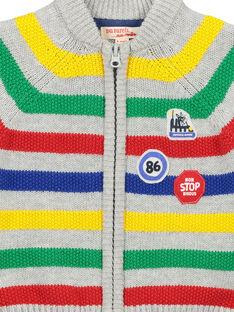 Baby-Weste aus Wolle mit Reißverschluss für Jungen FUCOGIL / 19SG1081GIL099