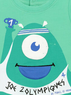 Kurzärmeliges Baby-T-Shirt für Jungen FUNETI1 / 19SG10B1TMC602