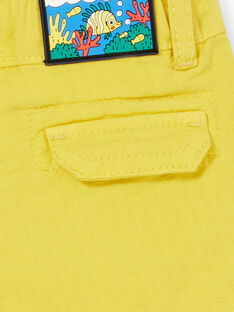 Baby Junge gelbe Shorts LUVIBER2 / 21SG10U3BERB115