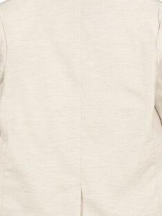 Beigefarbene Anzugjacke für Jungen FOPOVES / 19S902C1VESI811