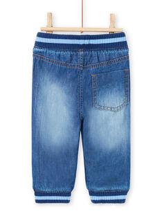 Baby Boy's Elastic Denim Jeans MUJOJEAN / 21WG1011JEAP274