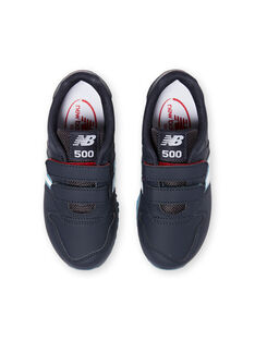 New Balance marineblau und weiß Turnschuhe für Jungen KGYV500RNR / 20XK3623D37070