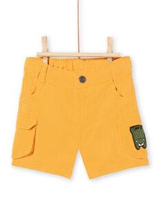 Baby Boy Senfgelbe Shorts LUTERBER3 / 21SG10V3BERB106