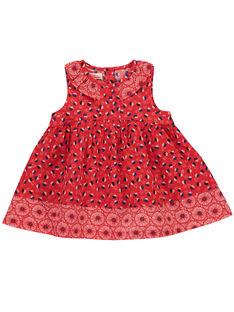 Baby-Schürzenkleid für Mädchen FITOROB1 / 19SG09L1ROB330