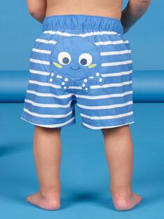 Blaue und weiße Badeshorts Baby Boy LYUMER1 / 21SI10DEMAIC238