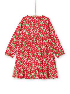 Langärmeliges Kleid mit Blumendruck LAROUROB1 / 21S901K1ROBF517