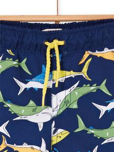 Baby Junge marineblau schwimmen Shorts LYUMER1EX1 / 21SI10DFMAI070