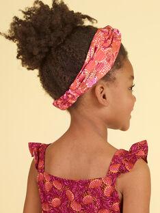 Rotes Stirnband Kind Mädchen LYATERHEAD / 21SI01E3TET001
