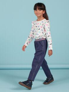 Kind Mädchen blau gefütterte Hose MAPLAPANT2 / 21W901O2PANC202