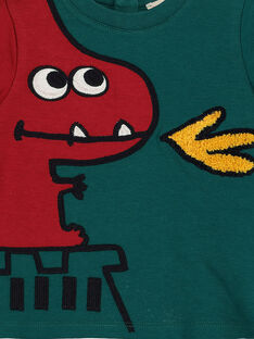 Kurzarm-T-Shirt mit Print Junge GUVETEEEX / 19WG1021TMC608