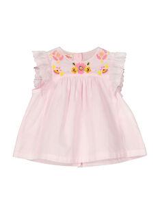 Ärmellose Baby-Bluse für Mädchen FIPOCHEM / 19SG09C1CHE307