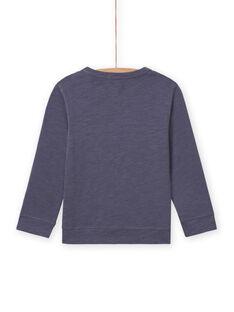 Grauer-Ritter-T-Shirt für Jungen MOPLATEE4 / 21W902O3TMLJ902