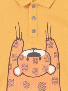 Baby Junge Senf Poloshirt LUTERPOL / 21SG10V1POLB106