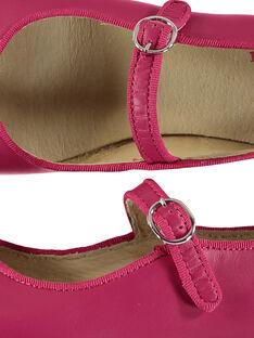 Mary Janes aus Leder für draußen Mädchen FFBABBRIDE2 / 19SK35C4D13304