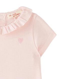 Rosafarbenes Baby-Jäckchen für Mädchen JIJOBRA7 / 20SG09T4BRA321