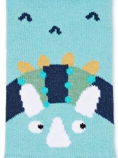Blaue Socken Kind Junge LYOVERSOQ / 21SI02Q1SOQ204
