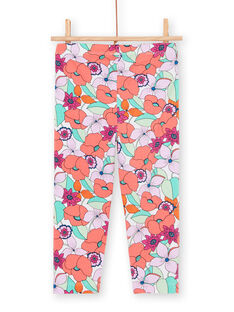 Mehrfarbige Leggings für Mädchen LYAVILEG / 21SI01U1CAL000