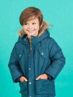 Parka mit Kapuze für Kind Junge MOGROPAR2 / 21W90251PAR716