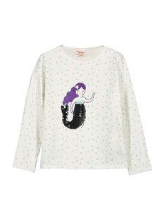 Langärmeliges T-Shirt für Mädchen FANETEE1 / 19S901B1TML000