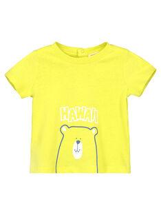 Kurzärmeliges T-Shirt für Babys Jungen FUJOTI10 / 19SG10G3TMCB105