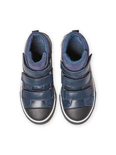 Baby Junge marineblau Turnschuhe MOBASTRIVNAVY / 21XK3653D3F070