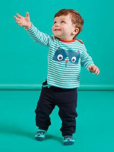 Nachtblauer Jogginganzug für Baby Junge MUTUPAN2 / 21WG10K2PANC234