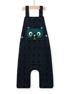 Baby Junge dunkelblau Latzhose MUTUSAL2 / 21WG10K1SALC234