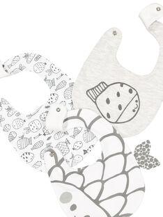 Unisex-Set aus Lätzchen für Babys FOU1BAV / 19SF4211BAV943