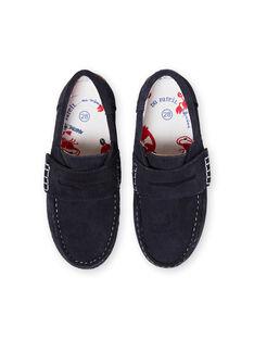 Marineblaue Mokassins für Jungen JGMOCRABE / 20SK36Y1D4N070
