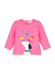 Langärmeliges Baby-T-Shirt für Mädchen FICOTEE / 19SG0981TML030
