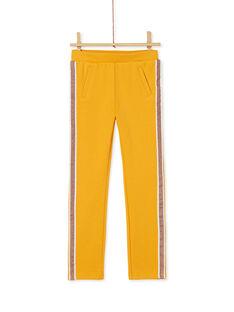Yellow PANTS KAJOMIL2 / 20W90151D2B107