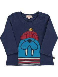 Baby boys' long-sleeved T-shirt DUNAUTEE2 / 18WG10G2TML713