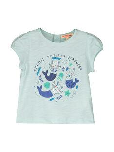 Kurzärmeliges T-Shirt für Mädchen FINETI / 19SG09B1TMCC216