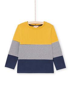 Baby Boy's Gelb & Marineblau T-Shirt MOJOTIDEC2 / 21W90221TML113