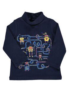 Baby boys' 'robot' polo neck DUBLESOUP / 18WG1091SPLC205