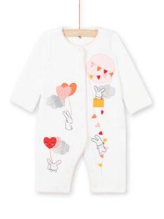 Gehrock für Baby-Mädchen in Ecru LEFIGREMON / 21SH13C4GRE001