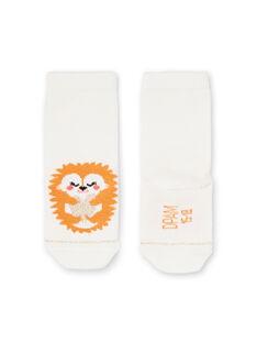 Baby Mädchen ecru Socken LYIPOECHO / 21SI09Y1SOQ001