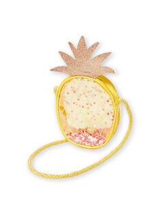 Ananas gelb Ananas Umhängetasche Kind Mädchen LYAJAUBAG / 21SI01O1BES116