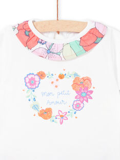 Baby-Mädchen-Shorts und T-shirt-Set LIVIENS / 21SG09U1ENS000