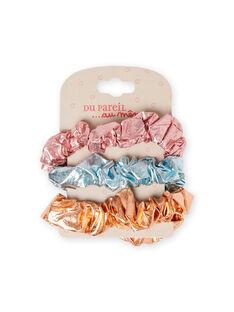 3 sortierte Gummibänder für Mädchen MYAJOELA4 / 21WI01S2ELAK008