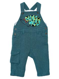 Gestreifte Baby-Latzhose für Jungen JUCLOSAL / 20SG1011SAL716